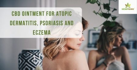 CBD ointment for atopic dermatitis, psoriasis and eczema