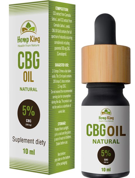 Hempking CBG Oil 5%