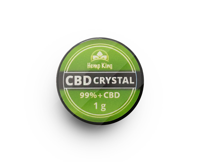 How to use CBD crystal?