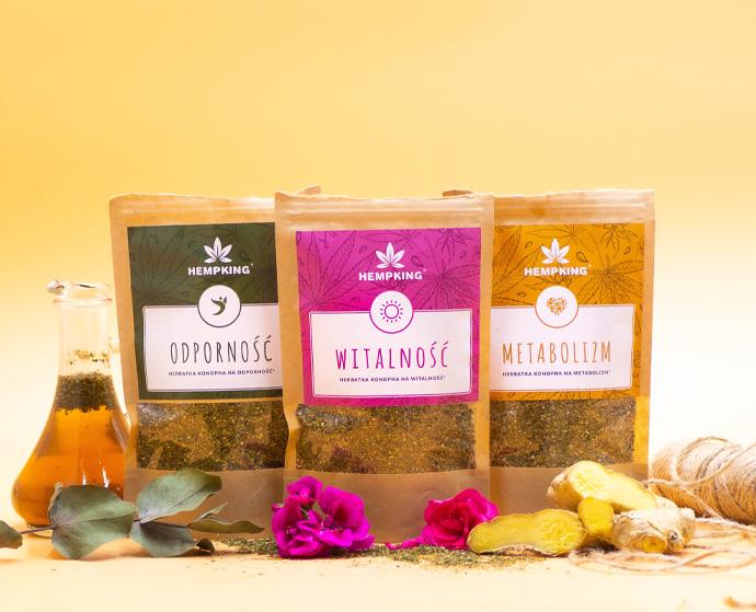 Hemp food: Hemp tea - properties and use