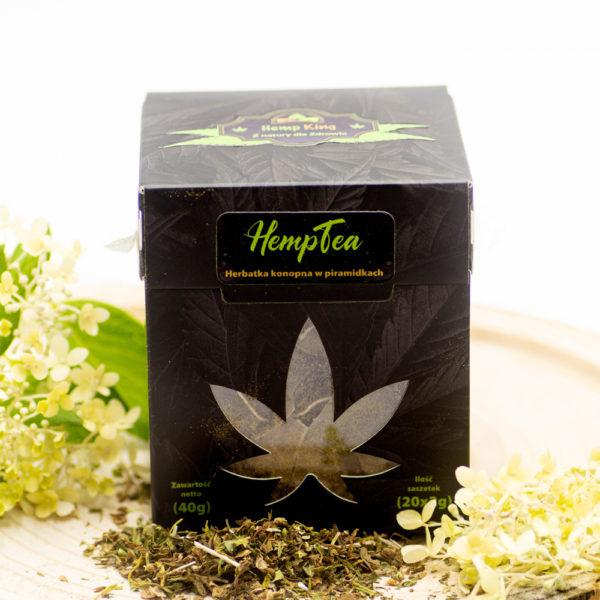 hemp tea pyramids