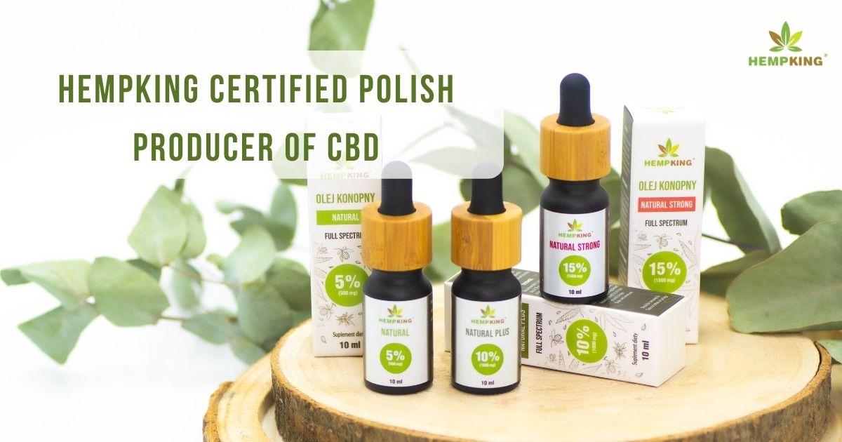 HempKing certified Polish producer of cbd