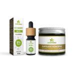 cbd capsules + Cbd oil 5%