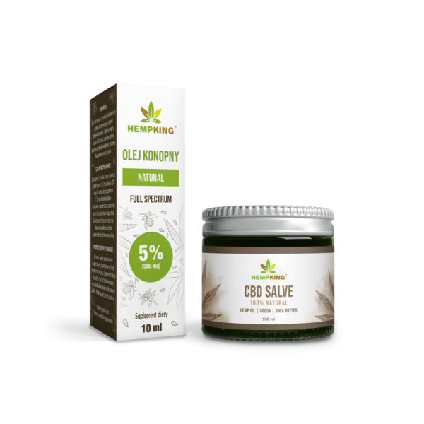 cbd oil 5% + cbd salve