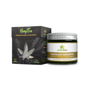 Hemp Tea and CBD Capsules