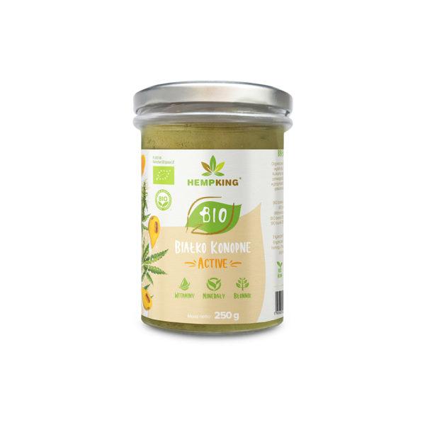 active organic hemp protein