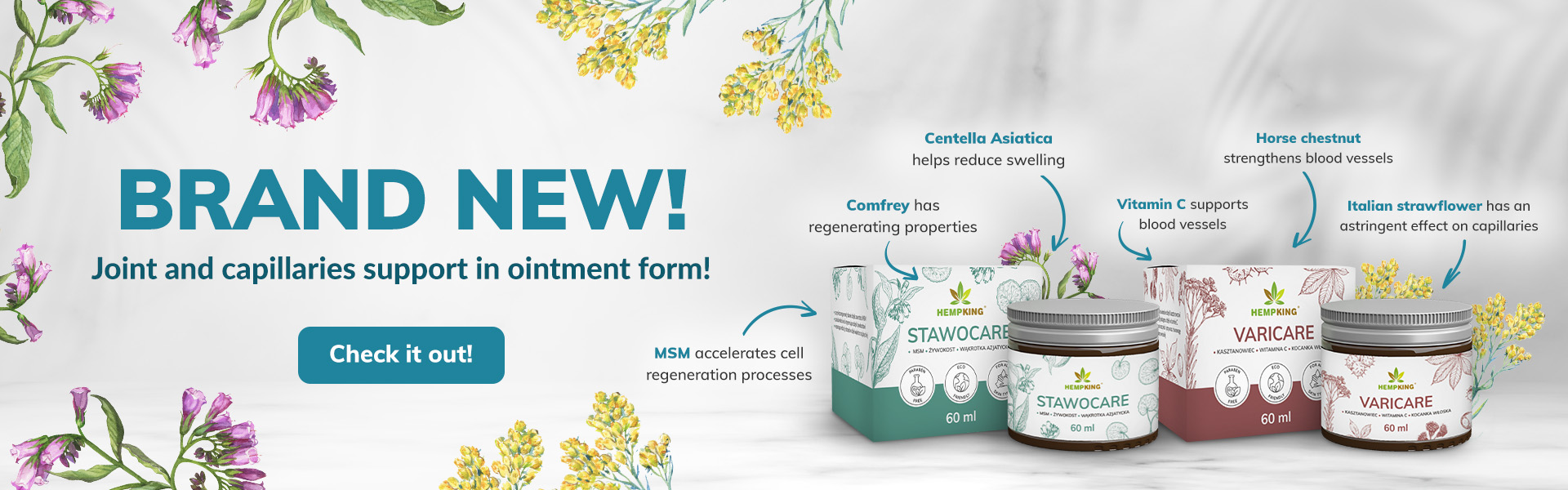 new ointments