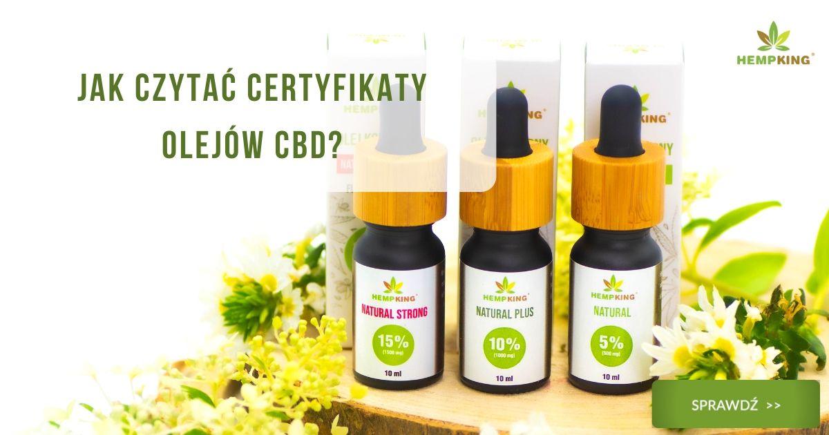 Jak czytać certyfikaty olejów CBD?