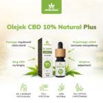 olejek cbd 10% natural plus właściwości