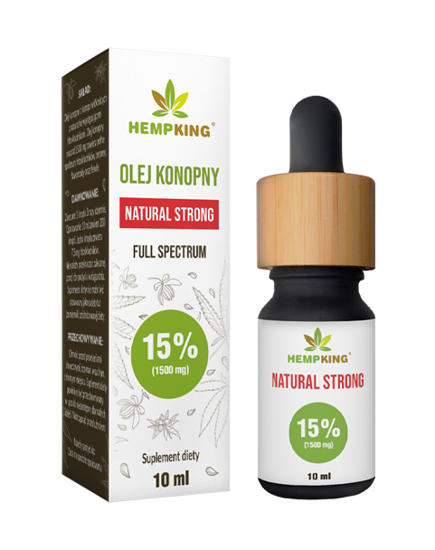 Hempking CBD Oil 15%