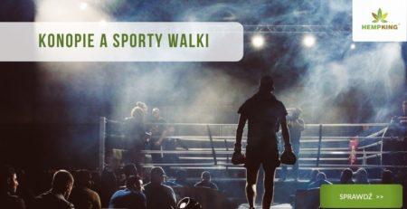 konopie a sporty walki