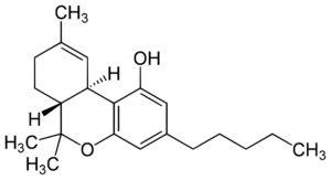 wzór THC