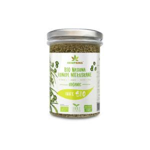 nasiona konopi niełuskane organic bio