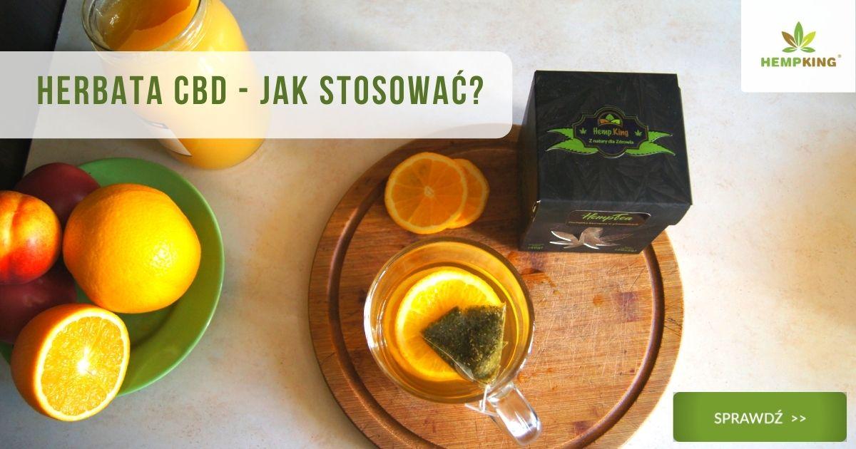 herbata cbd - jak ją stosować?