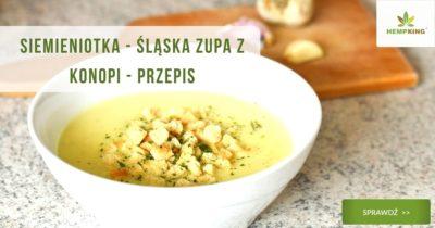 siemieniotka zupa z konopi przepis