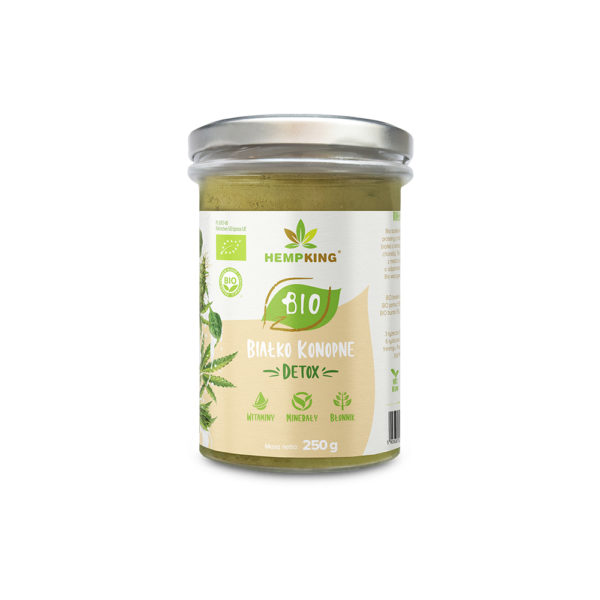 Bio białko konopne Detox 250g