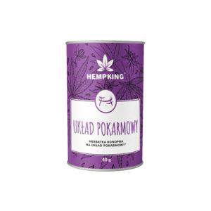 Herbatka konopna na układ pokarmowy